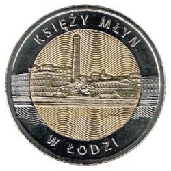 Poland 2015 5 Zlotys (Priest´s Mill-Lodz) UNC