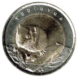 Turquía 2016 1 Lira Bimetálica (Lirón) S/C
