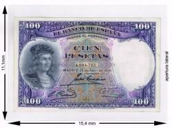 Plásticos para billetes 11.1 x 15.4 (100 unidades)