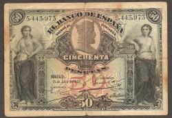 50 Ptas 1907 BC