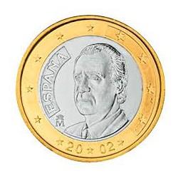 España 2002 1 Euro S/C