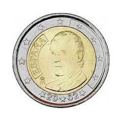 España 2002 2 Euros S/C