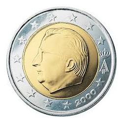 Bélgica 2000 2 Euros S/C