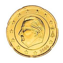Bélgica 2000 20 Céntimos S/C