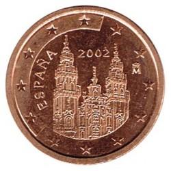 España 2002 2 Céntimos S/C