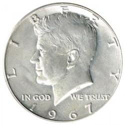 Estados Unidos 1967 1/2 Dólar Kennedy EBC