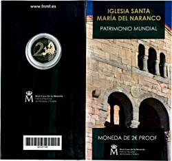 España 2017 2 Euros Iglesia de Santa María del Naranco PROOF