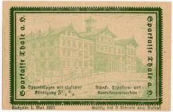 Thale Am Harz 10 Pfennig (5+5) (1-51.921) KL 1287a S/C-