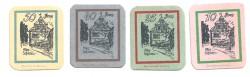 Trappstadt 10,25,40 y 50 Pfennig (31-12-1.920) KL 1302a S/C-