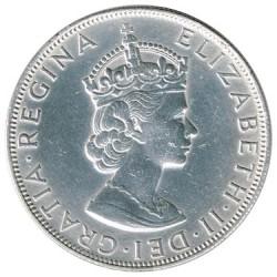 Bermuda 1964 1 Corona EBC