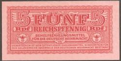 Alemania 5 Reichspfennnig PK M33 (1.942) S/C