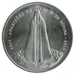 Portugal 2016 2´5 Euros Aparaciciones de Fátima S/C