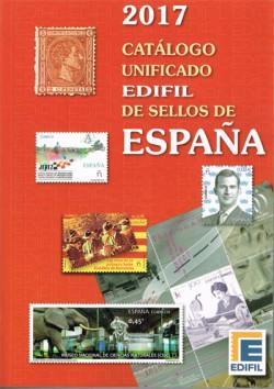 Edifil Catálogo Unificado de Sellos de España 1850-2016. Edición 2017