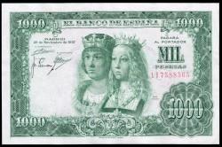 1000 Pesetas 1957 Reyes Católicos EBC-