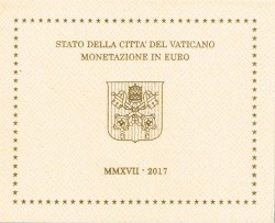 Vaticano 2017 Cartera Oficial S/C