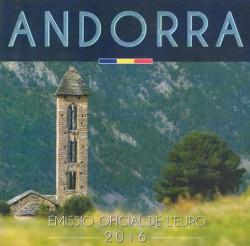 Andorra 2016 Cartera Oficial S/C
