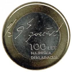 Eslovenia 2017 3 Euros. Declaración de mayo S/C