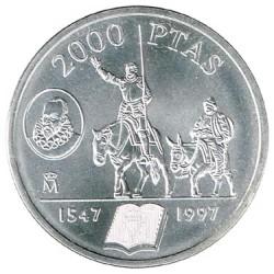 2000 Pesetas 1997 Cervantes S/C