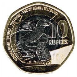 Seychelles 2016 10 Rupias. Tortuga Gigante S/C