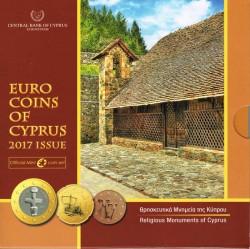 Chipre 2017 Cartera Oficial S/C
