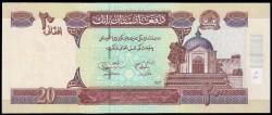 Afganistán 20 Afghanis PK 68b (2.004) S/C