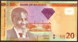 Namibia 20 Dólares PK 12b (2.013) S/C