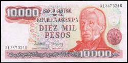 Argentina 10.000 Pesos PK 306b (1.976-83) S/C