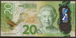 Nueva Zelanda 20 Dólares PK 193 (2.016) S/C