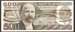 Méjico 500 Pesos PK 79b (7-08-1.984) S/C