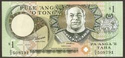 Tonga 1 Pa´anga Pk 31d (1.995) S/C