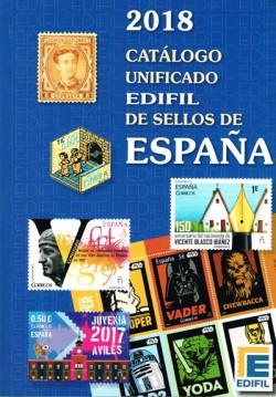 Edifil Catálogo Unificado de Sellos de España Edición 2018