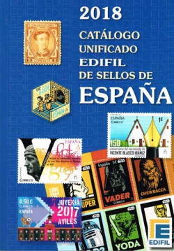Edifil Sellos de España 1850-2012. Edición 2014