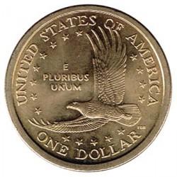 United States 2000 1 Dollar (Sacagawea) D UNC