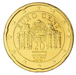 Austria 2008 20 Céntimos S/C