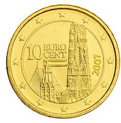 Austria 2007 10 Céntimos S/C