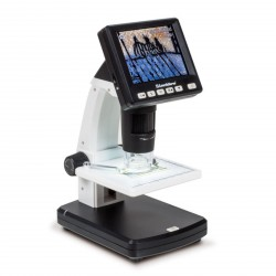 Microscopio digital-LCD, de 10 a 500 aumentos