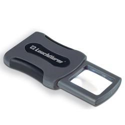 Lupa de bolsillo CLIP de 3 aumentos y LED