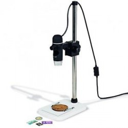 Microscopio digital-USB DM4 incl. soporte de apoyo