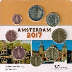 Holanda 2017 Tira 8 valores (Blister) S/C