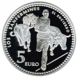 5 Euros plata 2010 Capitales de Provincia: Pamplona PROOF