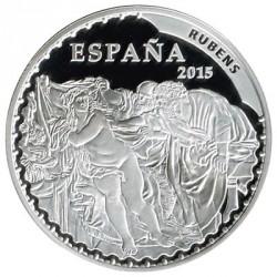 10 Euros plata 2015 Rubens PROOF