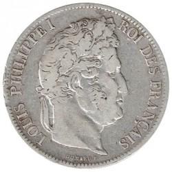 Francia 5 Francos Luis Felipe I 1841 MBC