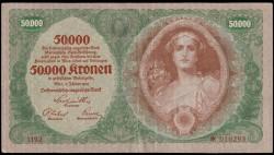 Austria 50.000 Coronas PK 80b (2-1-1.922) MBC-