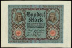 Alemania 100 Marcos PK 69b (1-11-1.920) EBC-