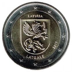 Letonia 2017 2 Euros. Región de Latgale S/C