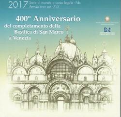 Italia 2017 Cartera Oficial Basílica de San Marcos S/C