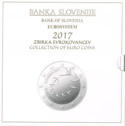 Eslovenia 2017 Cartera Oficial S/C