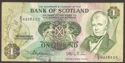 Escocia 1 Libra Pk 111g (15-10-1.979) MBC-