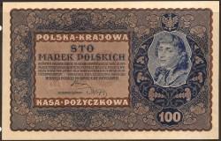 Polonia 100 Marek PK 27 (23-8-1.919) EBC+