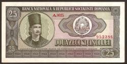 Rumanía 25 Lei PK 95 (1.966) EBC+